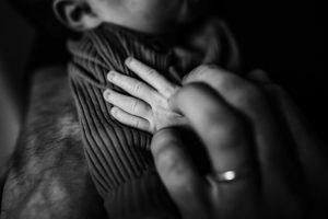 Colorado Newborn Photographer, baby hand