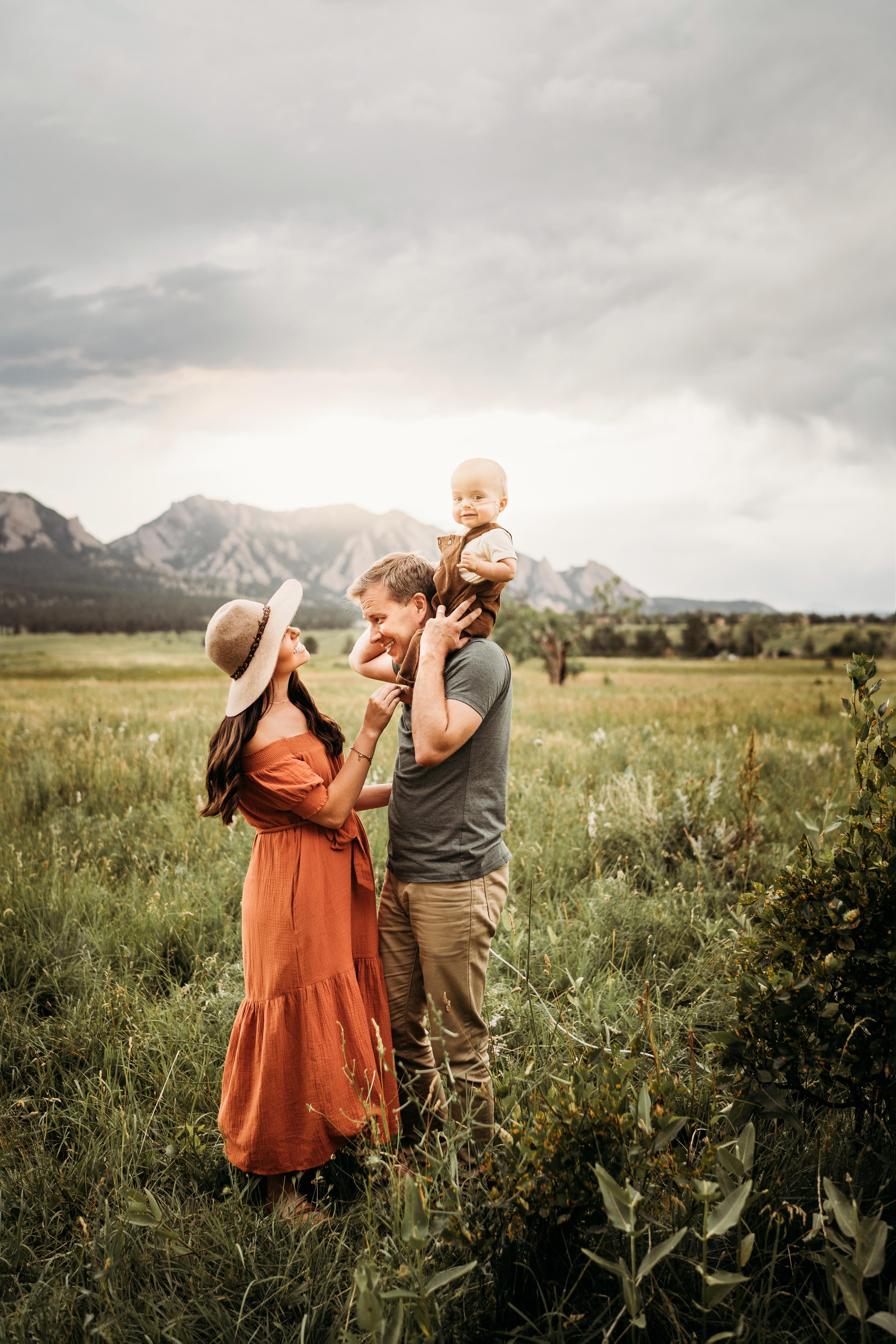 alex morris design denver colorado family photographer mountains and cows